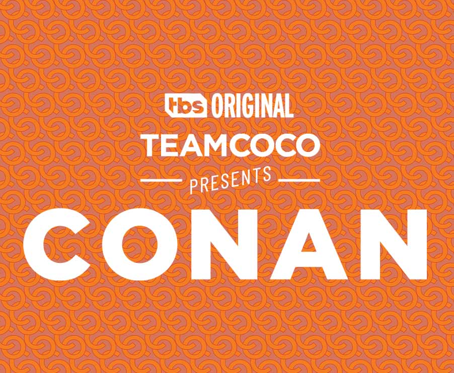 Team Coco presents Conan – Ashley Pimenta Design